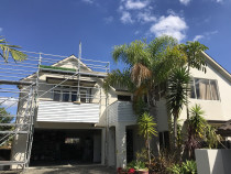 Waiatarua rd, Remuera - Wood primer application before top coats