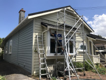 Mt eden Before - Full exterior painting, 
