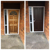 Before and After door fitting