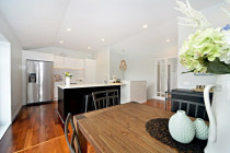 Bungalow transformation, St Heliers