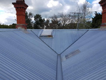 ROOF BEFORE Spalets Painting Ltd