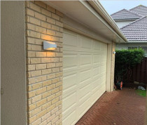Howick Renovations - Out with the old in with the new 12W LED exterior wall lights used to illuminate the brickwork.