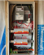Ellerslie Project - Combination meter box/switchboard installed at the Ellerslie project. We are assisting DR Electrical to get this job over the finish line.