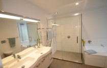 Mt Albert Bathroom Renovation by Sure Bathrooms - This stylish family bathroom was completely refurbished with joyful grandchildren in mind. Bath time is fun time!