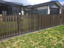 Fence vertical dressed timber 88mm x 18mm wide gap
