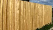 Fence vertical 1.8 dressed timber 88mm x 18mm - This fence is screwed off with stainless steel screws