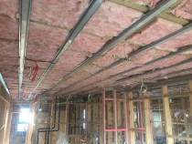 Insulation Installation completed