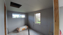 Completed room of Plasterboard Installation