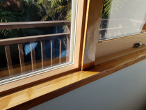 Cedar Finish - Thermawood Auckland - Natural cedar finish with white seal