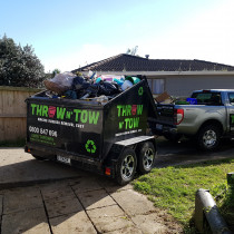 Another tenant moved, another clean up done :) - If your tenant has moved out but not quite taken all their stuff then give us a call and we can remove any excess rubbish for you.