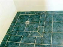 Floor level shower tray in My Albert, Auckland. - Installed by Tidy Tiling Service