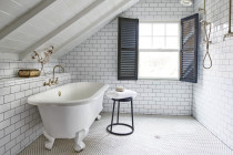 Subway tiles in bathroom - job in Remuera