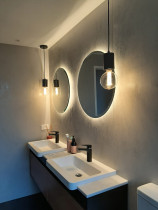 Bathroom lighting by TopMark Electrical - A recent bathroom lighting project by Topmark Electrical.