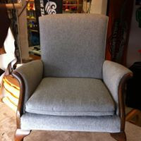 After Topstitch Upholstery
