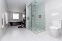 Bathroom Renovation - Full bathroom renovation with full tiling floor to ceiling.