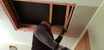 Fixing hole and plastering by TT Quality Services