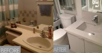 Bathroom Renovations - Residential and Commercial renovations, your one stop shop. We have our interior designers and suppliers to ensure that we can provide you with the knowledge and a successful project.