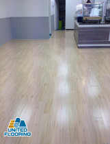 Cafe shop, Howick, Auckland. 2014 - Laminated Flooring