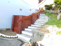 Retaining wall and stairs - Build retaining wall and concrete stairs