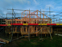 New Build - 2 bedroom cottage by Vert Construction Ltd - Built 2 bedroom house on timber piles in Newlands.