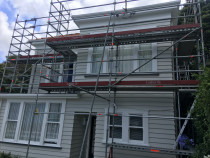 Exterior Cladding repair and paint