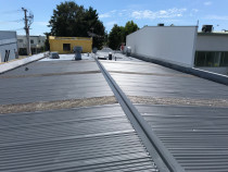 Factory iron roof resurface