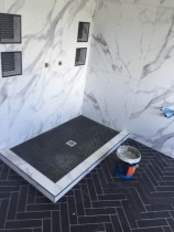 Recent Tiled Shower Base - Wongs Renovation Limited