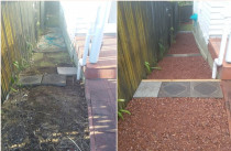 Yard tidy up - Birkenhead, Auckland 