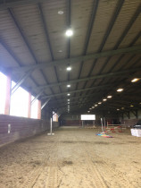 Horse Arena - Upgrade of LED lights to horse arena by Connect Electrical 2015 Ltd