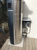 Heat pump - Hotwater heat pump and filtration system