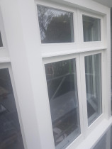 Retrofit (Double glaze) - We removed the existing single glazed glass and replaced with all-new 16mm DGU (Double glazed units).