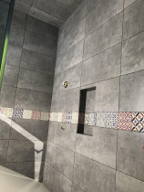 300x600 Tiles with Stripes - Quality job done by HEK