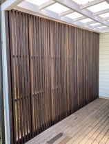Cedar Screen in Greylynn