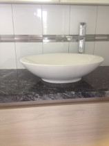 Square with listelo insert by Just Splashbacks - Female Tiler