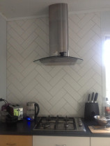 300x100 subway herringbone by Just Splashbacks - Female Tiler