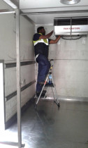 Refrigeration repairs in chiller unit