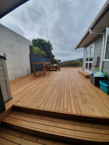 Deck replacement - Out with the old and in with the new ! 