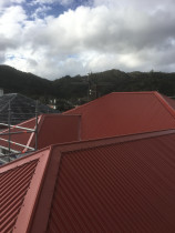 New roof in nae nae - Old concrete tile roof replaced with new colour steel long run roofing in Nae nae Lower hutt