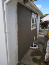 Exterior plastering works - Remedy Exterior plastering works on installing windows,