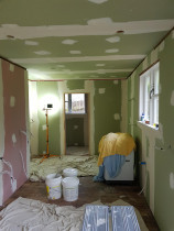 Gib Stopping - Gib stopping ceiling and walls, kitchen, dining and laundry/toilet,