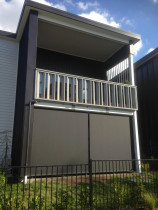 Cafe style outdoor screens - Cafe style Mesh outdoor screens