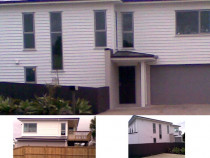 Exterior + Interior House Painting, Auckland - The builder who owned this house had very exacting standards that given Willy's precise nature was a challenge that he enjoyed meeting.