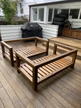 Decking and outdoor furniture