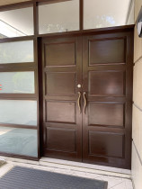 Door and frame