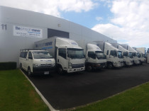 Our current fleet - We have a fleet of 6 trucks & 3 trailers in various sizes and configurations. We have the right truck to suit your move size and access conditions!