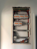 Tidy residential switchboard completed at our Shore Road Renoavtion