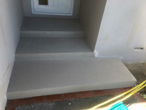 Solid Plaster Steps