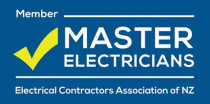 Active member of Master Electricians NZ (2016 - current) - MP Lighting & Electrics is an active member of the Master Electricians NZ.