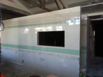 Bar tiling on walls 75X150  commercial auckland