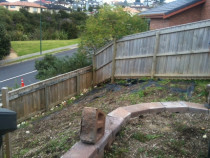 Bark Garden Before